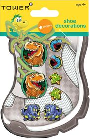 Tower Kids Shoe Decorations - Dinosaurs 3