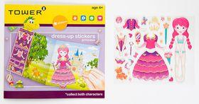 Tower Kids Dress-up Stickers - Princess Pink