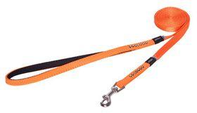 Rogz - Lapz 8mm Extra Small Luna Fixed Long Dog Lead - Orange