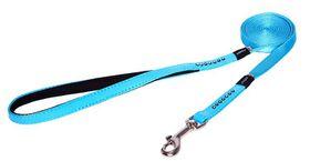Rogz - 13mm Luna Fixed Long Dog Lead - Blue