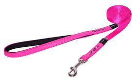 Rogz - 13mm Luna Fixed Long Dog Lead - Pink