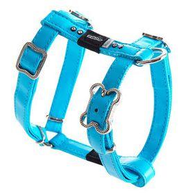 Rogz - Lapz 13mm Small Luna Adjustable Dog H-Harness - Blue