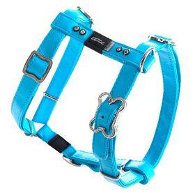 Rogz - Lapz 16mm Medium Luna Adjustable Dog H-Harness - Blue
