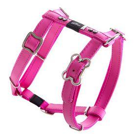 Rogz - Lapz 16mm Medium Luna Adjustable Dog H-Harness - Pink
