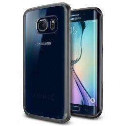 Spigen Case Ultra Hybrid for Samsung S6 Edge - Gunmetal