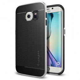 Spigen Case Neo Hybrid for Samsung S6 Edge - Satin Silver