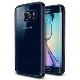 Spigen Case Ultra Hybrid for Samsung S6 Edge - Metal Slate