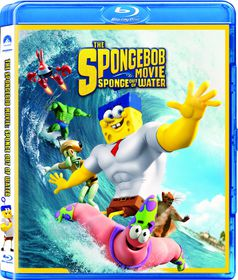 The Spongebob Movie;Sponge Out Of Water (2015) (Blu-ray)