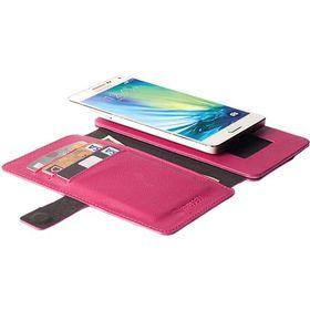 Krusell Malmo FlipWallet for Sony Xperia Aqua M4/Aqua M4 Dual - Cerise/Pink
