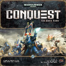 Warhammer 40000K Conquest The Card Game