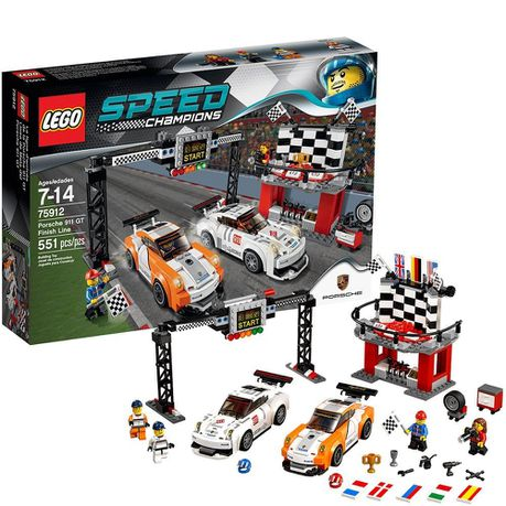 Lego Speed Champions 75912 Porsche 911 Gt Finish Line Buy Online