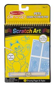 Melissa & Doug Animals Learn to Draw Pad