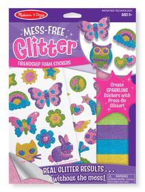 Melissa & Doug Friendship Foam Stickers - Mess Free Glitter