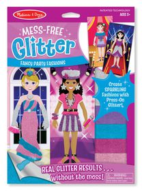Melissa & Doug Fancy Party Fashions - Mess Free Glitter