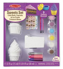 Melissa & Doug Sweets Set Decorate Your Own