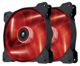 Corsair SP140 Air Series LED High Static Pressure 140mm Fan (Twin Pack) - Red
