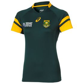 Women's Asics Springbok Home 2015 Replica Jersey