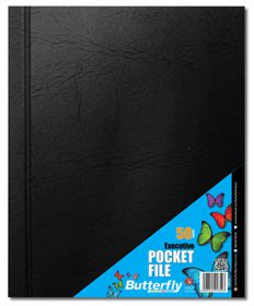 Butterfly Executive Pocket File A4 - 50 Page