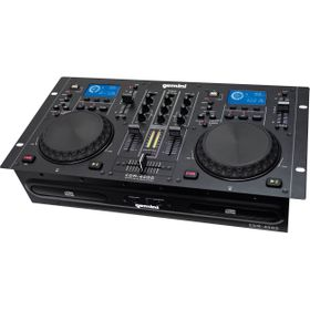 Gemini CDM4000 Dual CD/MP3/USB DJ Media Player