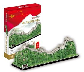 Cubic Fun The Great Wall - China - 75 Piece 3D Puzzle