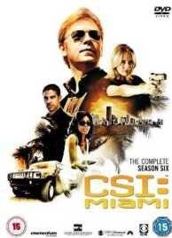 CSI Miami: Complete Season 6 (DVD)