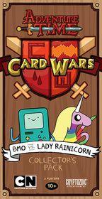 Adventure Time Card Wars BMO vs Lady Rainicorn