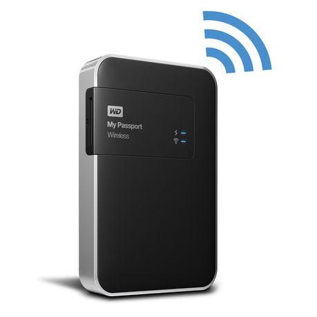 2bbc7af7144c WD My Passport Wireless Wi-Fi Mobile Storage - 2TB | Buy Online in ...