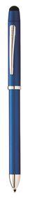 Cross Tech3+ Metallic Blue Multifunction Pen With Stylus