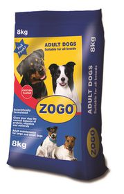 Zogo - Chicken Flavour Dog Food - 8kg