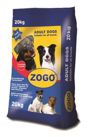 Zogo - Chicken Flavour Dog Food - 20kg