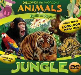 Discover the World of Animals:Jungle - (Region 1 Import DVD)