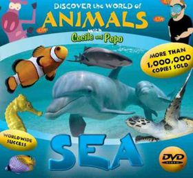 Discover the World of Animals:Sea - (Region 1 Import DVD)