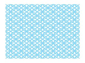 Couture Creations Background Savvy Cutting Dies - Predictability (100 x 100mm)