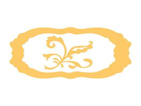 Couture Creations Everyday Essentials - 2 Tags & Flourish (91 x 52mm & 70 x 40mm & 37 x 34mm)