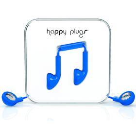 Happy Plugs Earbud + Mic & Remote - Cobalt