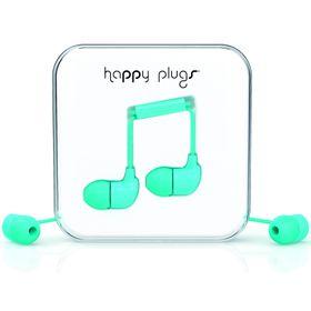 Happy Plugs In-Ear + Mic & Remote - Turquise
