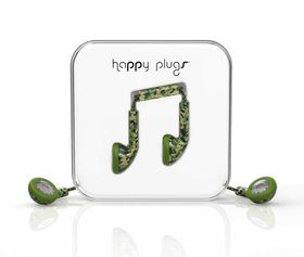 Happy Plugs Unik Earbud + Mic & Remote - Camo