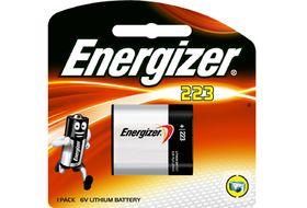 Energizer Photo Lithium 6v 223 Battery