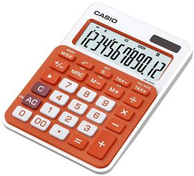 Casio MS20NC Desktop Calculator - Orange