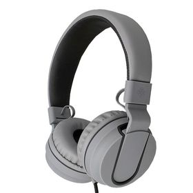Polaroid Foldable Stereo Headphone with Inline Mic - Black