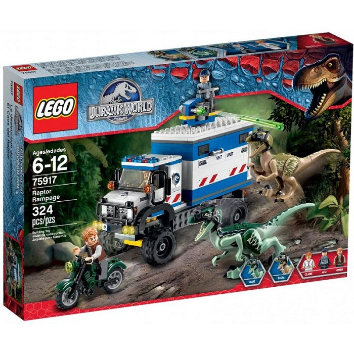 Lego Jurassic World - Raptor Rampage | Buy Online in South Africa ...