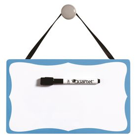 Quartet Vintage Magnetic Dry Erase Board - Blue