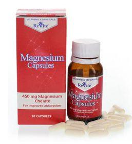 Revite Magnesium Capsules - 30's