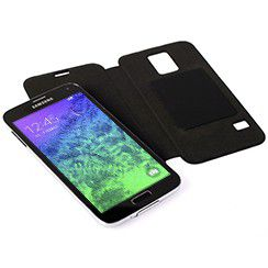 Krusell Ekero Folio Skin for the Samsung Galaxy J1 - Black