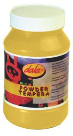 Dala Powder Tempera 200g - Black