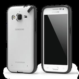 PureGear Slim Shell Case for Samsung Galaxy Core Prime - Clear/Black