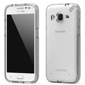 PureGear Slim Shell Case for Samsung Galaxy Core Prime - Clear/Clear