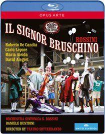 Il Signor Bruschino: Rossini Opera Festival - Rustioni (Import Blu-ray)
