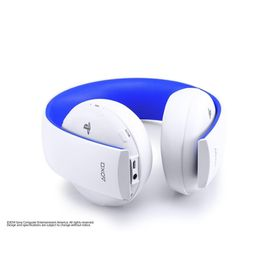 White Wireless Stereo Headset (PS4, PS3, PS VITA)