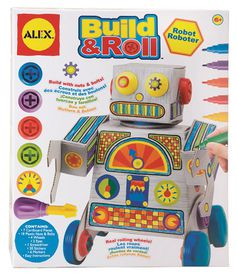 Alex - Build & Roll Robot